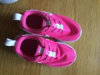 Girls 'Nike' trainers, size 8.5, vgc