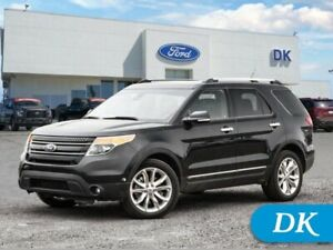 2014 Ford Explorer Limited  302A w/Leather, Moonroof, DVD, and N