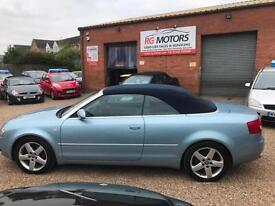 2004 Audi A4 Cabriolet 1.8T quattro Sport, Blue, **ANY PX WELCOME**
