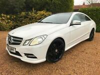 """2012 MERCEDES BENZ E220 CDI COUPE SPORT AMG ,AUTO , PANORAMIC ROOF 19""""ALLOYS"""