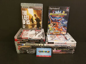 Warp Zone Games - New PS2 and PS3