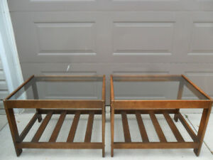 Pair of Mid Century Modern Living Room End Tables