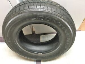 One Continental P235/ 70R16 M&S Tire - New