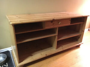 TV stand - wood Kitchener / Waterloo Kitchener Area image 1
