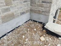 Concrete resurfacing, flagstone, foundation repairs and parging