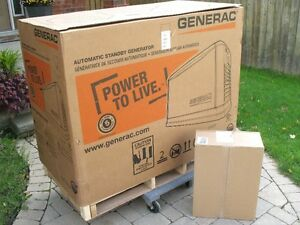 Generator: Generac Standby Generator & Transfer Switch For Sale