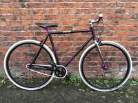 Norco Spade Custom Built Single Speed Bike 21 Inch Frame Excellent Condition