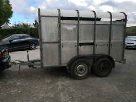 10x6 Ivor Williams cattle trailer £1195