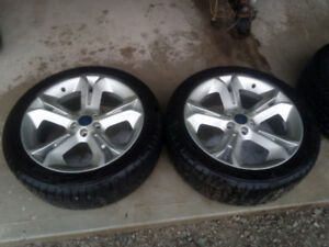 4 Taurus SHO 20 inch Rims and NEW Tires 245/45/ R20 5x115