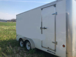 Hotsy in Enclosed  Trailer