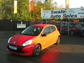 2012 RENAULT CLIO VVT 200 SPORT 2L ONLY 24,141 MILES, FULL SERVICE HISTORY