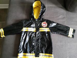 Imperméable, manteau, bottes 2 à 4 ans