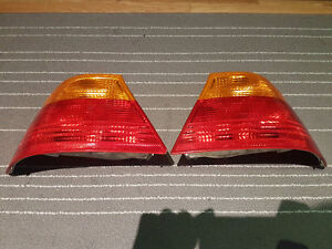 BMW E46 Coupe Tail lights brake lights 1999+