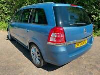 2008 Vauxhall Zafira 2.2i Design 5dr MPV Petrol Manual
