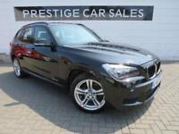 2013 BMW X1 2.0 18d M Sport sDrive 5dr Diesel black Manual