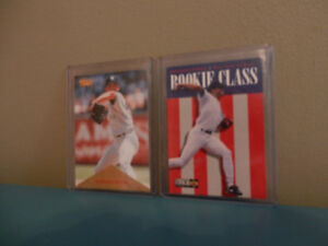 Upper Deck, Pinnacle Mariano Rivera Rookie cards Lot of 2 MLB