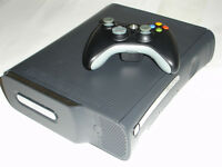 JTAG Xbox 360 Elite Hacké SOFT modifié+2 manettes+Wifi+Games++