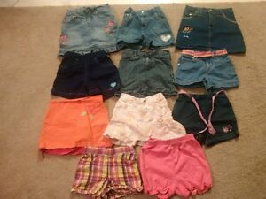 Girls Shorts and Skirts- size 2/3- 11 Pairs
