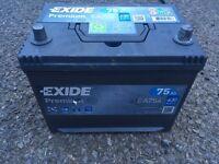 Car van 4x4 battery