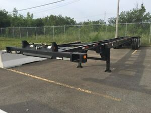 45 foot container trailer heavy duty DOT inspected 10/2015