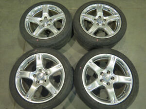 JDM Toyota Aristo Lexus GS300 5X114.3 Wheels 17X8+50 Rims 2JZGTE