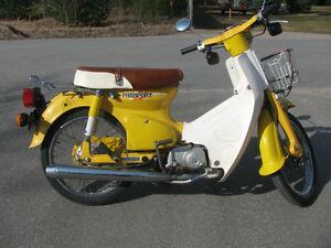honda c70 motorcycles for sale in ontario kijiji classifieds. Black Bedroom Furniture Sets. Home Design Ideas