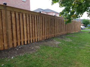 New fences and fence repair