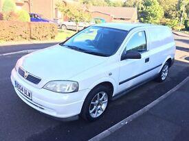 2004 Vauxhall Astra 1.7 CDTi van with alloys.. long mot .. runs great