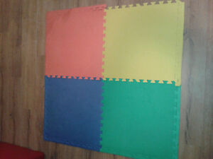 Colored Playmats