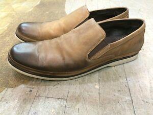 """souliers """"John Varvatos"""" en cuir peu portés, gr. 10M (44) homme"""