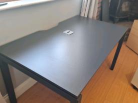 1800 mm black executive office desk