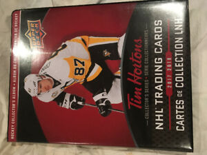 Cartes hockey tim horton 2017-2018