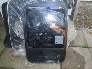 various size conversion van windows all brand new