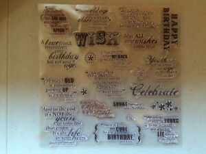 Assorted Rubber and Photopolymer Stamps Kitchener / Waterloo Kitchener Area image 2