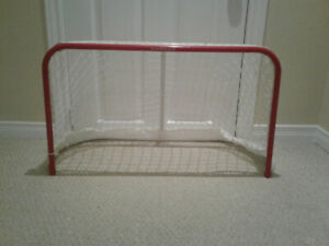 Mini stick net with shooter tutor