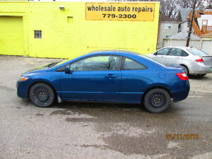 2011 Honda Civic NEW SAFETY AND WARRANTY Coupe (2 door)