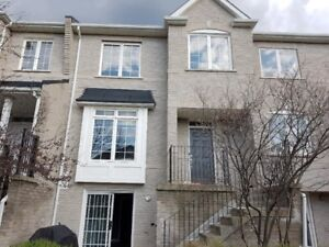 A townhouse for rent in Markham