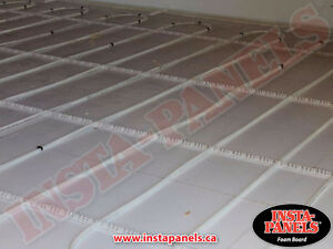LOOK Under Concrete Board Insulation GREAT Deal $0.75/ft2 Peterborough Peterborough Area image 9