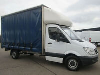 2012 62-REG Mercedes Benz Sprinter 2.1TD 313CDI LWB CURTAINSIDER 13FT 6'' LUTON