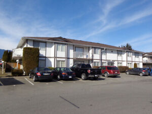 1 Bedroom Bright and Clean Ground level Corner Suite Chilliwack