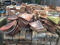 Various Rosemary reclaimed roofing tiles