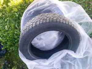2 Studded Winter Tires 205/55R16