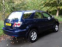 2002 02 Lexus RX 300 3.0 auto SE..STUNNING CONDITION!!