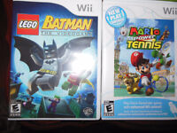 Wii games and Xbox360