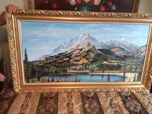 Original Oil Paintings with Beautiful Frames