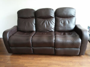 Sofa with Power Reclining Seats