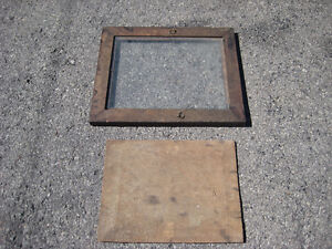 Antique Walnut picture frame - carved wooden back Cornwall Ontario image 2
