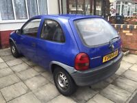 Low mileage Vauxhall Corsa 56K family owned from new