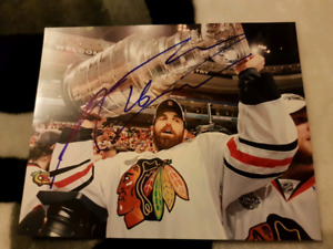 Andrew Ladd Autographed 8x10 Photo For Sale