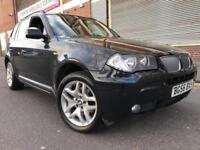 BMW X3 2007 3.0 30sd M Sport 5 door AUTOMATIC, F/S/H, LEATHER, 2 OWNERS, BARGAIN